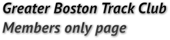 Greater Boston Track Club 